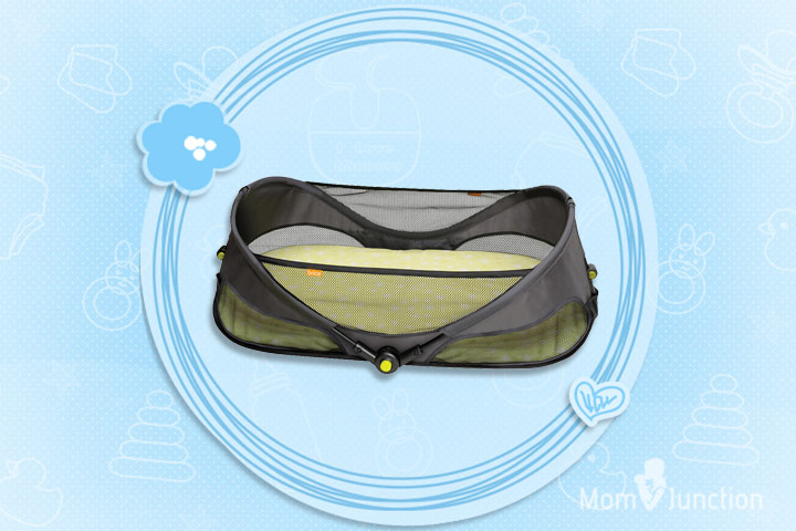 Yapaa Baby Brica Fold N Go Travel Bassinet