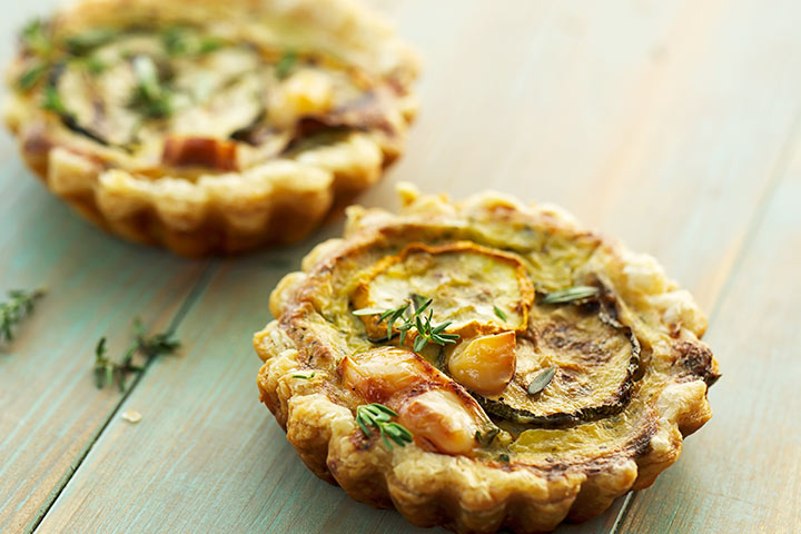 Zucchini And Cottage Cheese Quiche