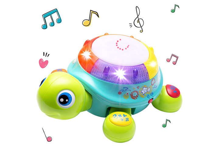 iPlay, iLearn Musical Turtle Toy