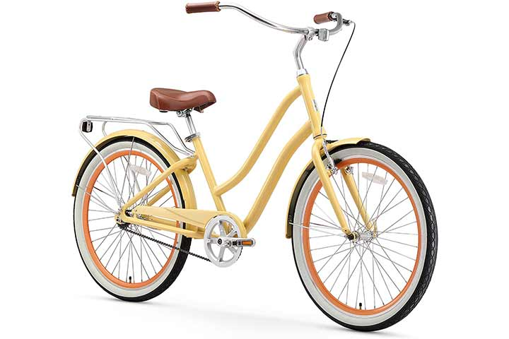 sixthreezero EVRYjourney Hybrid Alloy Beach Cruiser Bicycle