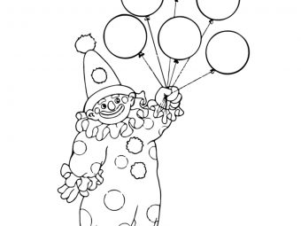 10 Funny Joker Coloring Pages For Your Little Ones