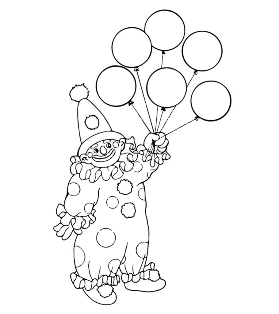 Joker Coloring Pages - Best Coloring Pages For Kids | 1024x910