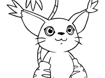 10 Lovely Digimon Coloring Pages For Your Little Ones