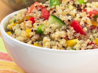 10 Quick & Delicious Quinoa Recipes For Toddlers
