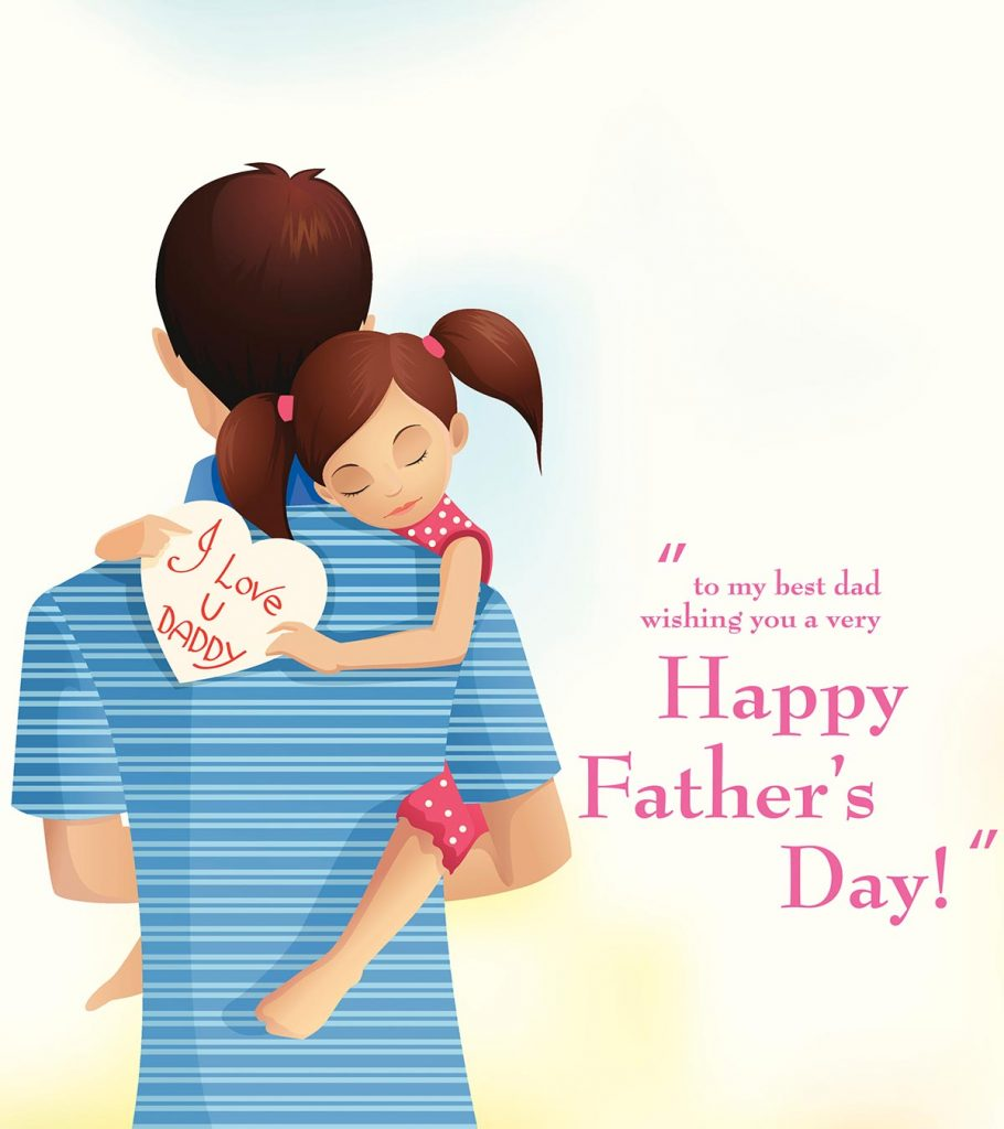 You/'re not my Dad But you/'re the best one for the job Funny Fathers Day Card ...