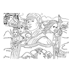 chronicle of narnia coloring pages | 10 Free Printable Narnia Coloring Pages For Your Toddler