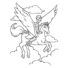 pegasus coloring pages brietta
