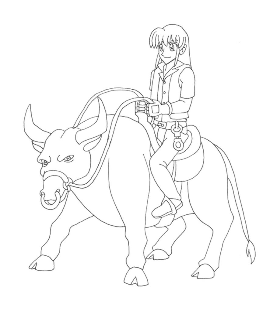 Rodeo Bull Coloring Pages. tweet blog newest additions main index ... | 1024x910