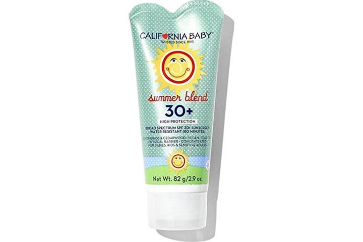 California Baby Face & Body Sunscreen Lotion