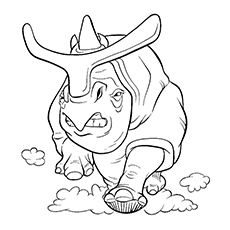 ice age coloring pages | Coloring Page