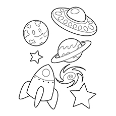 Celestial Spaceship