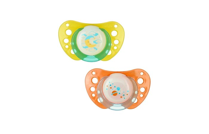 Chicco Soother PH Air Lumi Sil 6