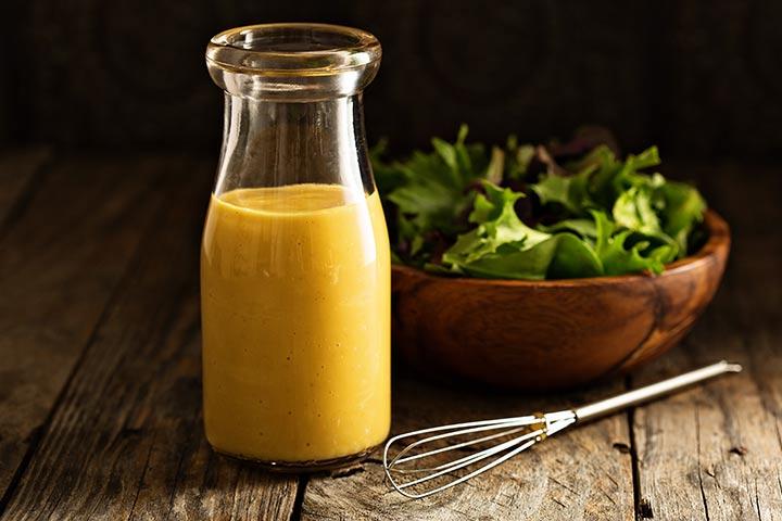 Cider vinegar salad dressing