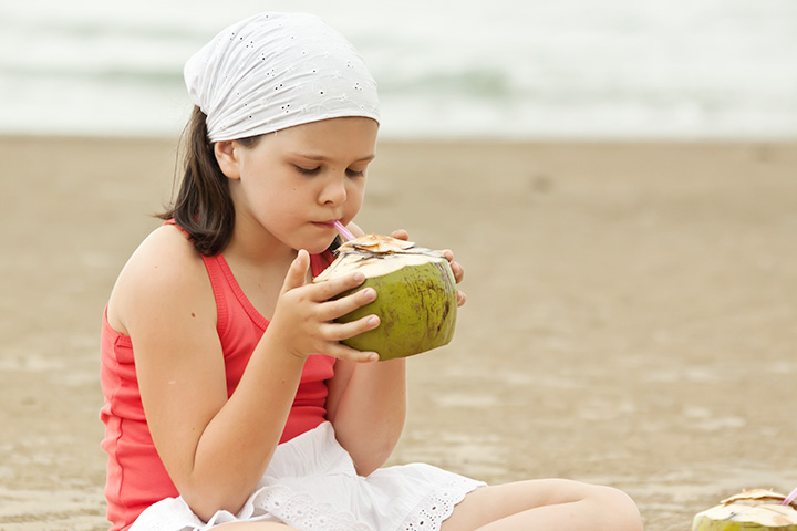 Coconut Water For Kids