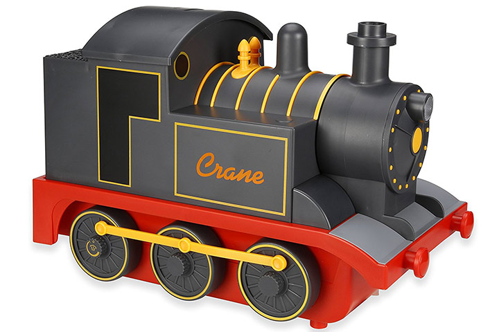 Crane Adorable Train-shaped Ultrasonic Cool Mist Humidifier