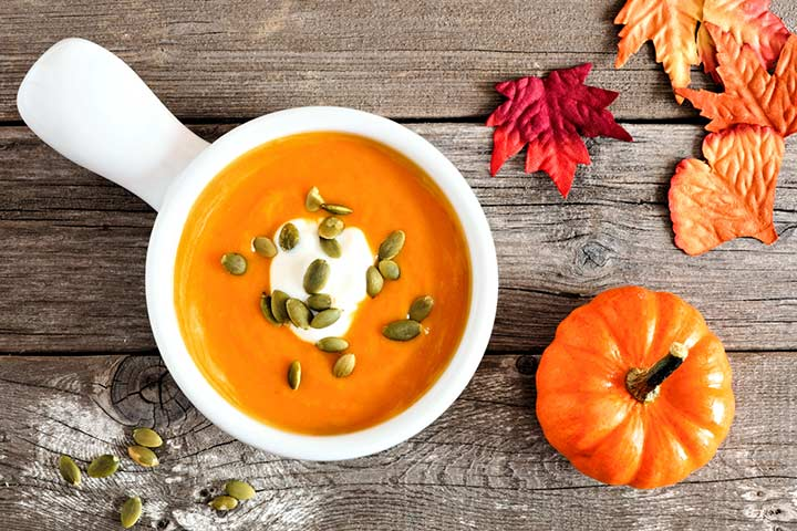 Creamy Pumpkin And Lentil Soup