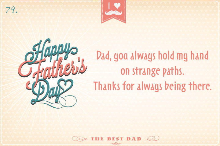 Dad, you always hold my hand on strange paths. Thanks for always being ther