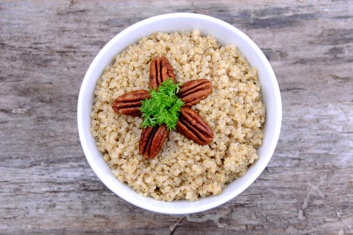 Delicious Pecan-Quinoa Bowl