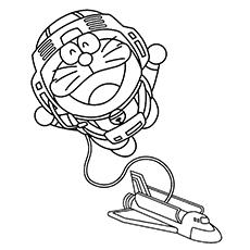 Doraemon Going On A Space Adventure