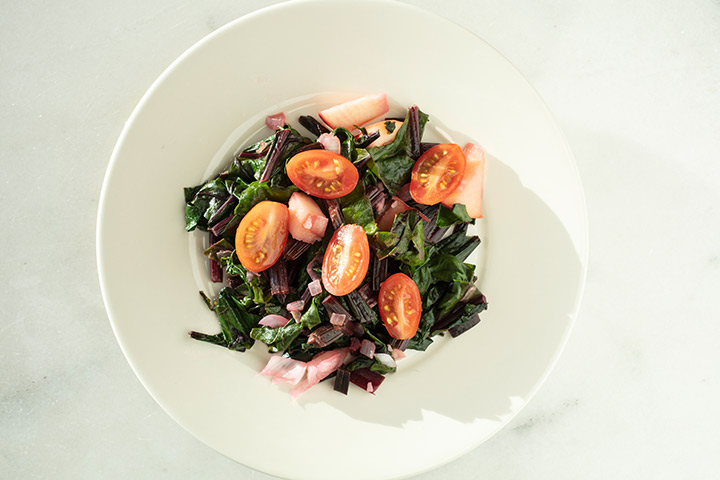 Easy beet greens recipe