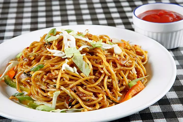 Easy kids chow mein