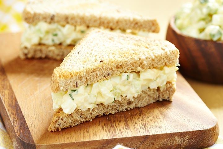 Egg Sandwich (8-9 months)