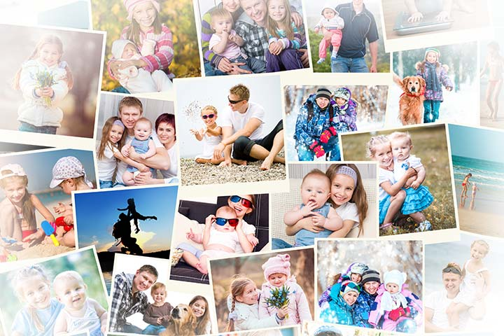 Father's Day Picture Collage