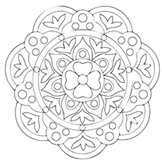 rangoli coloring pages 10 Free Printable Rangoli Coloring Pages For Your Little One rangoli coloring pages