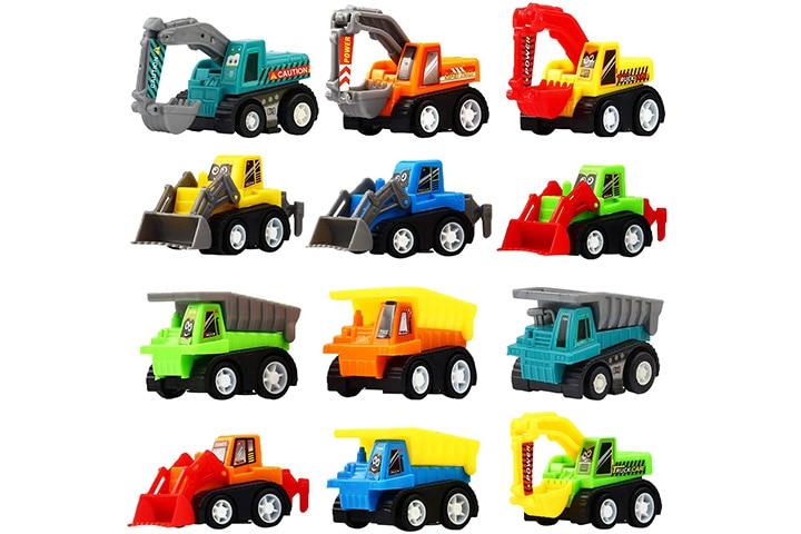 Funcorn Toys Mini Truck Toy Kit Set