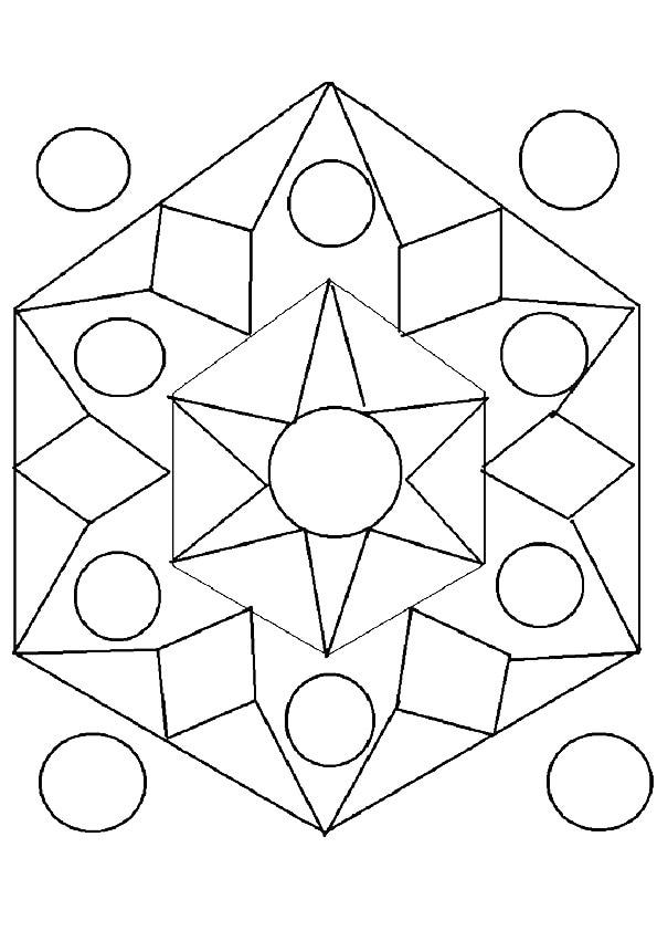 Geometric-Rangoli