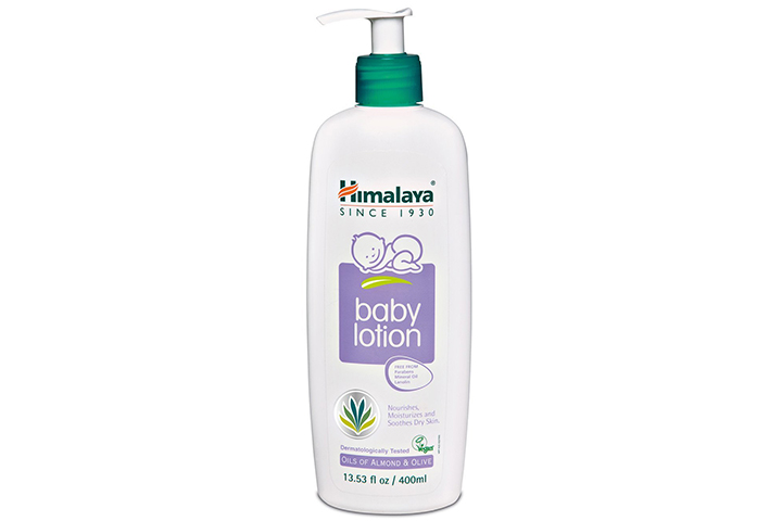 Himalaya Baby Lotion with Almond and Olive Oil