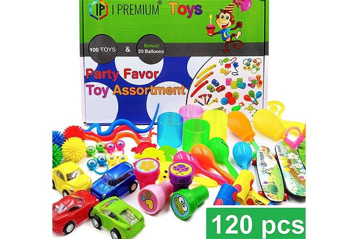 IP I Premium 120 Pcs Toy Assortment