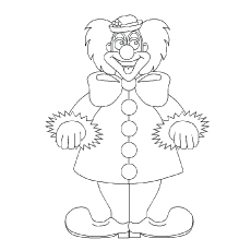10 Funny Free Printable Joker Coloring Pages Online