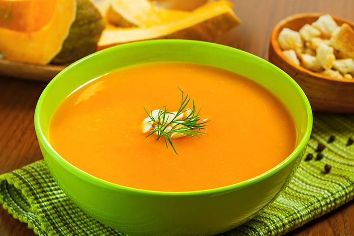 Lentil and Pumpkin Soup