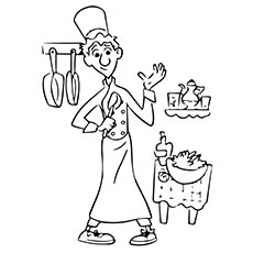 Linguini Coloring Sheet to Print