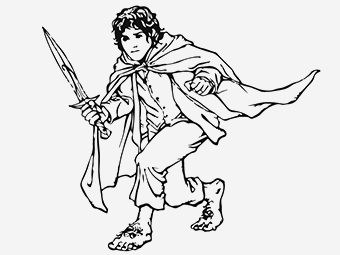 10 Best Lord Of The Rings Coloring Pages For Your Toddler