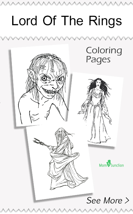 Coloring Pages Lord Of Rings Printable Image