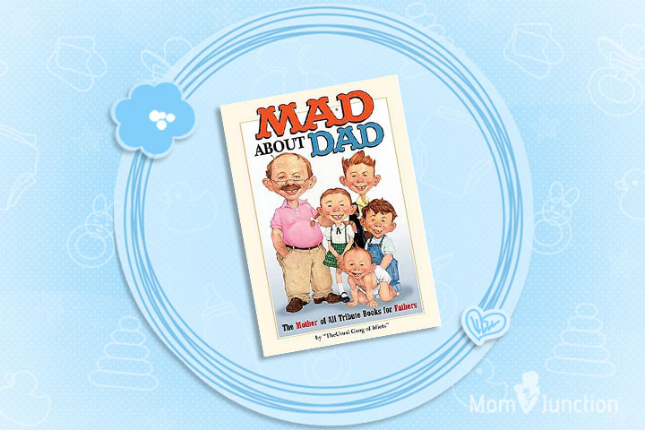 Mad About Dad Book In Hardcover