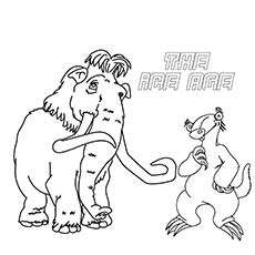 ice age coloring pages 10 Cute Ice Age Coloring Pages For Your Toddler ice age coloring pages