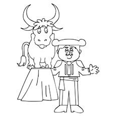 Matador With The Bull