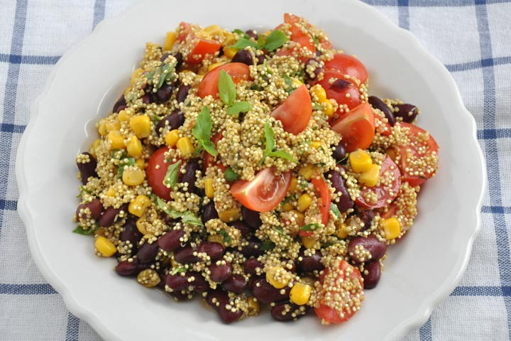 Mexico-Quinoa Salad