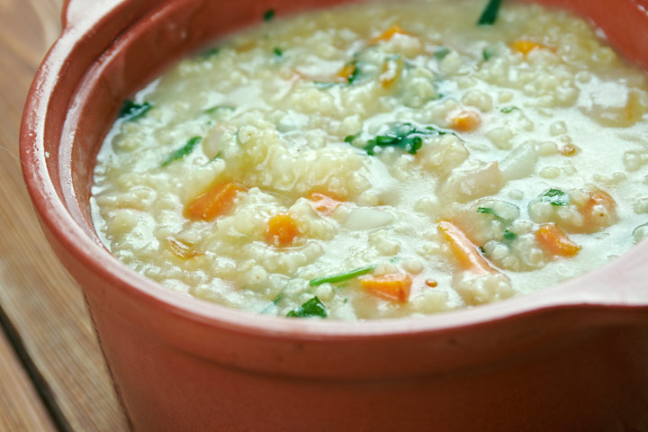 Millet For Babies - Millet, Carrots And Apples Stew