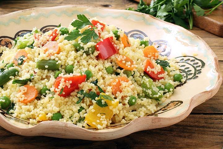 Millet For Babies - Millet Veggie Salad