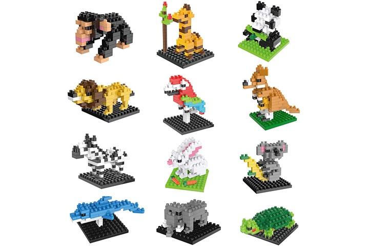 Mini Animals Building Blocks Sets