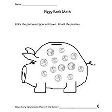 Money In The Back Worksheet