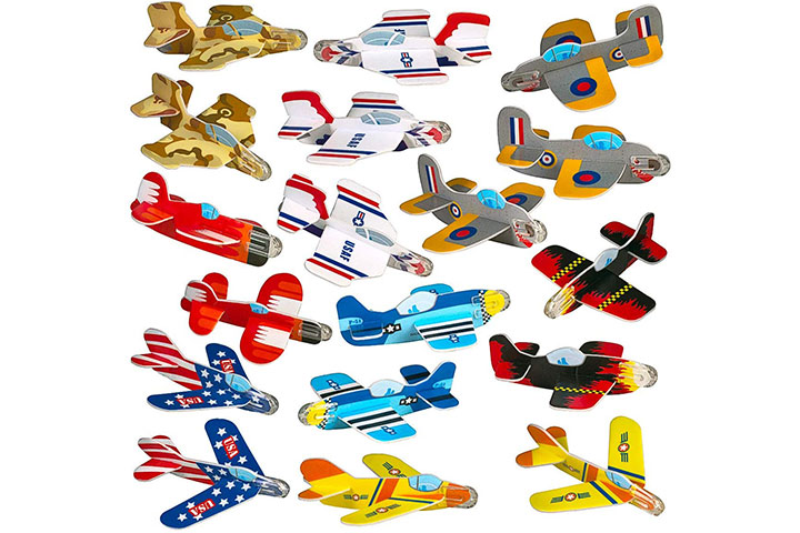Neliblu Airplane Gliders for Kids