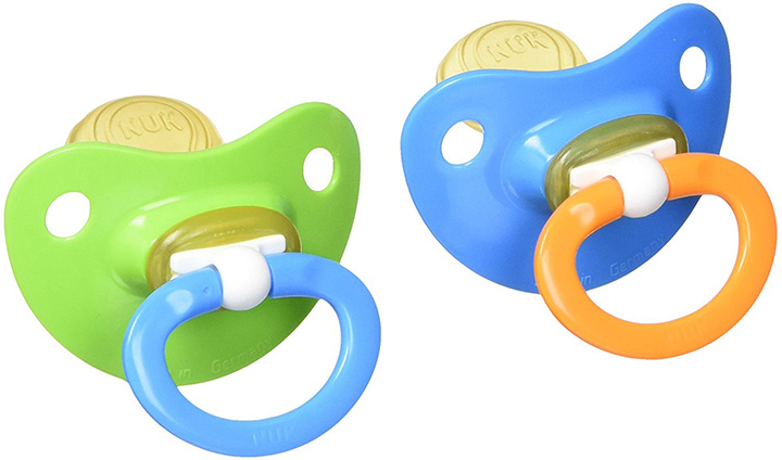 Nuk Natural Shape Orthodontic Pacifier