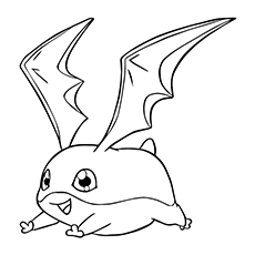 10 Lovely Free Printable Digimon Coloring Pages Online