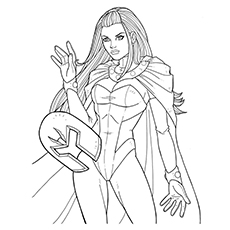 Top 10 X Men Coloring Pages For Toddlers