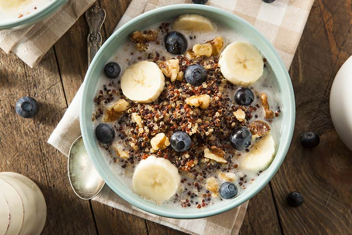 Quinoa And Banana Breakfast